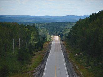 Ontario Highway 144 - Highway 144 north of Gogama