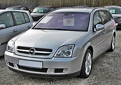 Opel Vectra C przed liftingiem