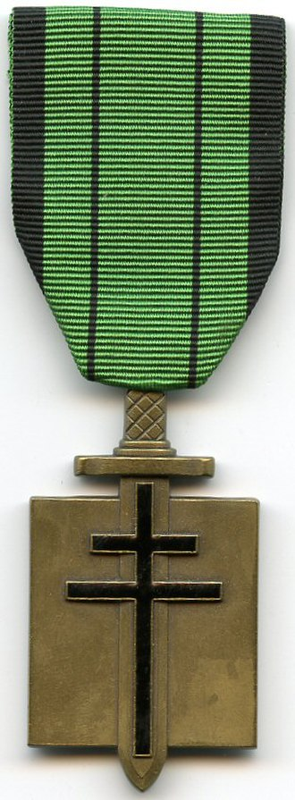 Orders, decorations, and medals of France - Image: Ordre de la Liberation France