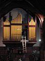 Organ repair, St Andrew's at Rangi Ruru.jpg