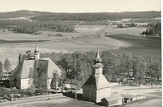 Orivesi - Image: Orivesi old church
