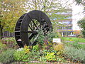 Ornamental water wheel at Silver Street, Bury (2).JPG