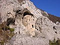 Ostaci Manastira Blagoveštenje u Gornjačkoj klisuri.jpg