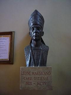 Leo of Ostia Catholic cardinal