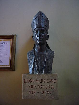 Leo of Ostia - Modern bust of Leo