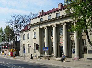 Ostrowiec Świętokrzyski - Post office building