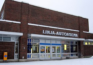 Oulu Bus Station 20141123