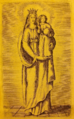 Our Lady of Loreto, from Gumppenberg's Atlas Marianus.png