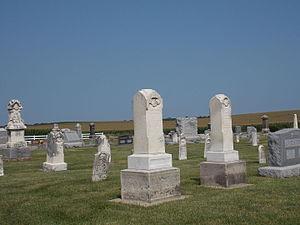Our Savior's Kvindherred Lutheran Church (Calamus, Iowa) -  Our Savior's Kvindherred Cemetery