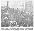 Ovación tributada al general Echagüe por los estudiantes de la Universidad de Valencia, de Gómez Durán, Nuevo Mundo, 09-11-1911.jpg