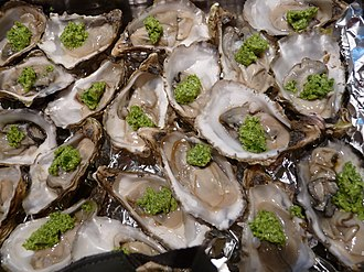 Persillade - Oysters persillade