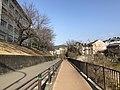 Ozakiike Park and Kashii Technical High School.jpg