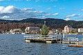 Pörtschach Johannes-Brahms-Promenade schwimmender Weihnachtsbaum 18112019 7524.jpg