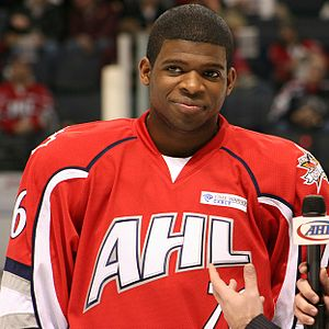 P. K. Subban - Subban at the 2010 AHL All-Star Game