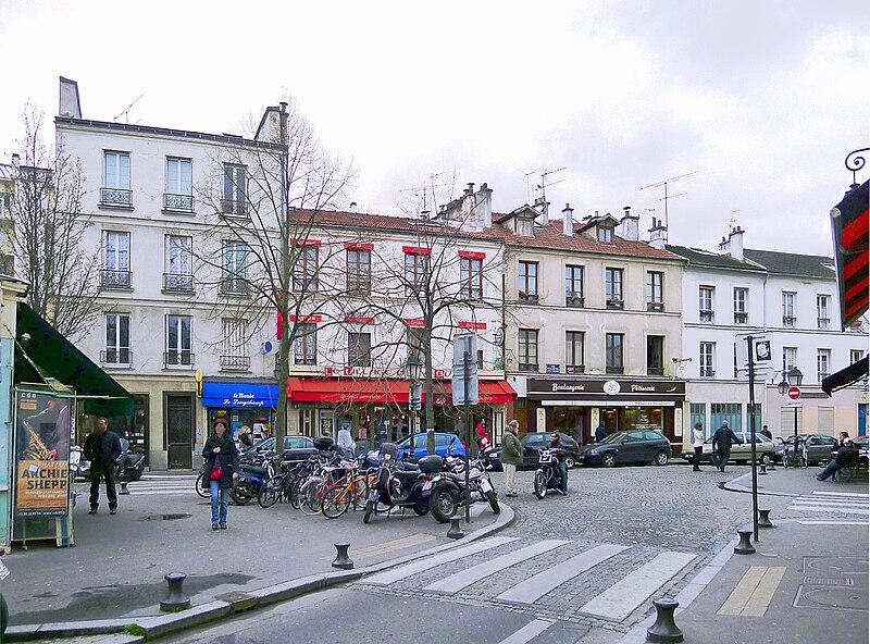 Fichier:P1010326 Paris XIII Butte-aux-Cailles Carrefour rues de la BaC et des 5 diamants reductwk.JPG