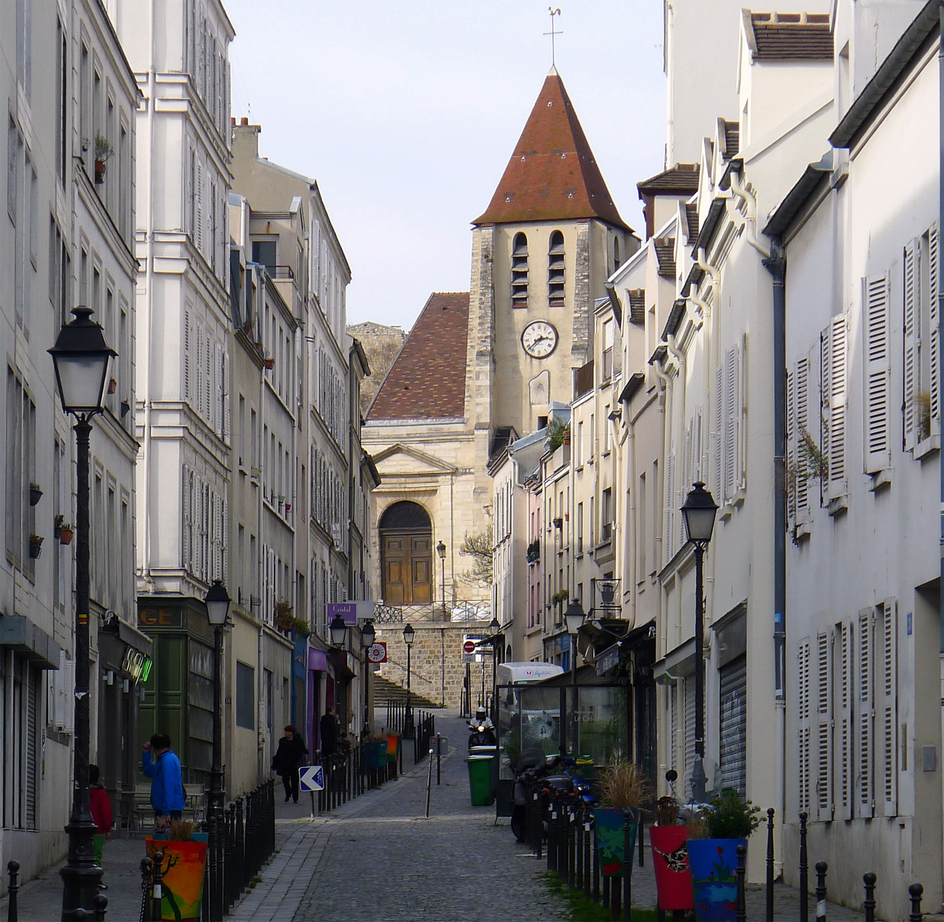Rue saint blaise wikip dia for Carrelage du sud boulevard saint germain