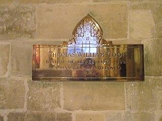 Thomas Cook (bishop) Anglican Bishop of Lewes