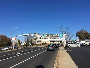 Feasterville, Pennsylvania - Intersection of Bustleton Pike and Bridgetown Pike in Feasterville
