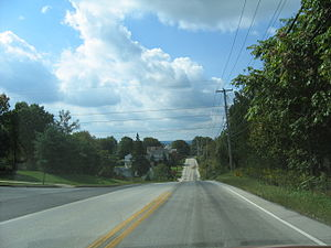 Pennsylvania Route 29 - Southbound PA 29 north of Phoenixville.