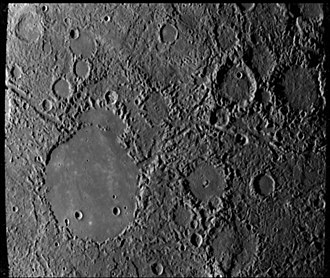 Petrarch (crater) - Petrarch is the large crater to the lower left