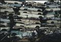 PILE OF WRECKED AUTOS AT KLEAN STEEL CO - NARA - 542656.tif