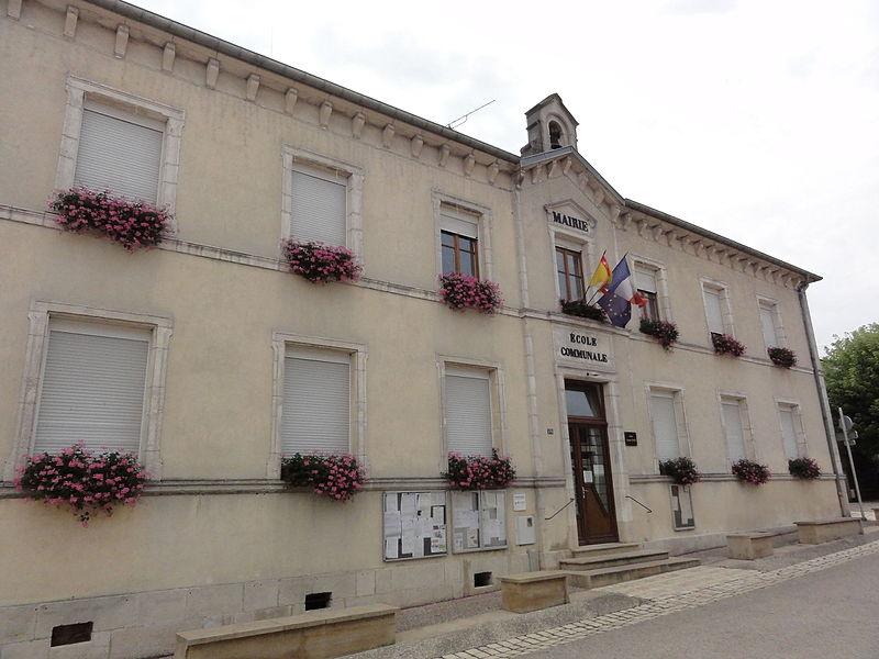Pagney-derrière-Barine (Meurthe-et-M.) mairie-école communale