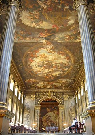 James Thornhill - Painted Hall, Greenwich