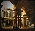 Palace Courtyard by Lorenzo Bellotto.jpg