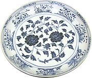 Blue-and-white Chinese porcelain-ware from the Topkapı collection