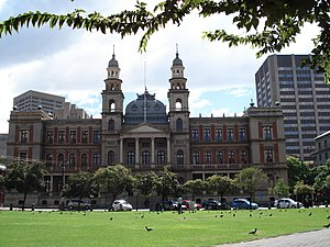 Rivonia Trial - The Palace of Justice in Pretoria, site of the trial