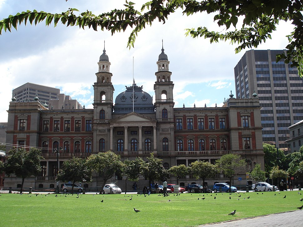 Palace of Justice, Church Square, pretoria