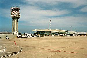 Falcone–Borsellino Airport - Image: Palermo Airport bjs 2007 01