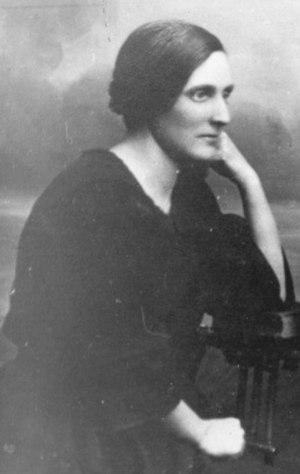 Paluta Badunova - Poluta Bodunova in 1923