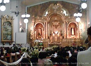 Pandacan - The Sto. Niño de Pandacan Parish, which celebrates its fiesta every third Sunday of January.