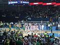 Panevėžio arena, Lietuva - Rusija.JPG