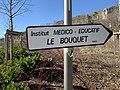 Panneau Le Bouquet, rue Louis Bouquet (Lyon).jpg