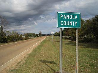 Panola County, Mississippi - Image: Panola County MS 001
