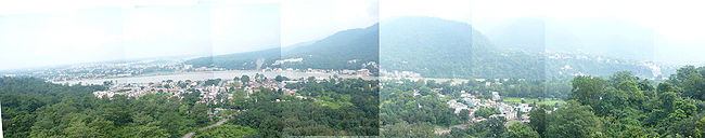 Panoramic photography of rishikesh.JPG