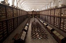 Panoramica biblioteca casanatense