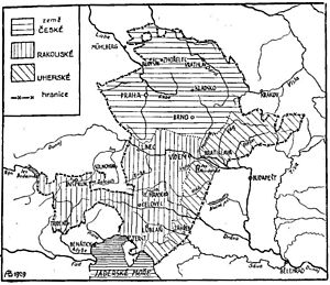 History of Moravia - Lands of the Czech Crown (together with the Lands of the St Stephen Crown and the Austrian Hereditary Lands) within the Habsburg Empire