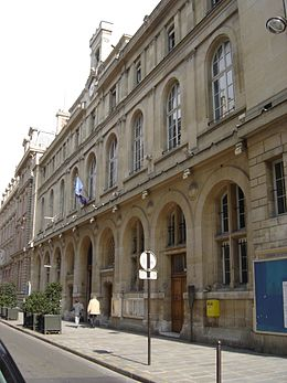 Mairie du 2e arrondissement de paris wikip dia - Statut de la ville de paris ...