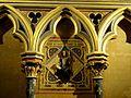 Paris (75), Sainte-Chapelle, chapelle basse, 1ère travée côté sud, médaillon.JPG