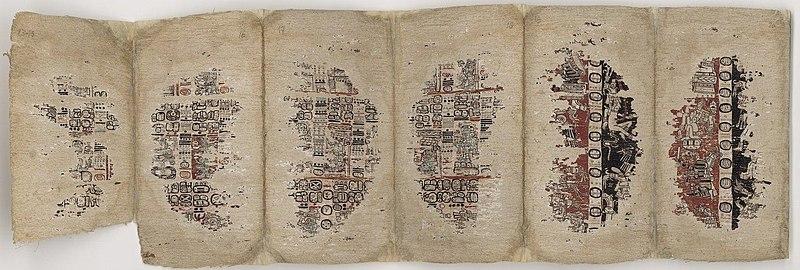 рукопись майя