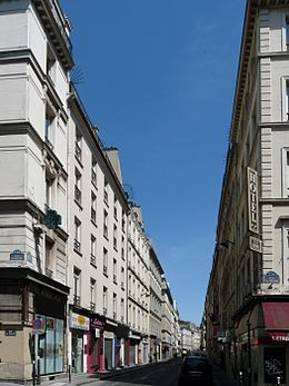 Image illustrative de l'article Rue Bleue (Paris)
