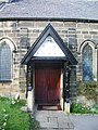 Parish Church of St Wilfrid, Pool-in-Wharfedale, Porch - geograph.org.uk - 722460.jpg