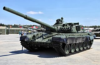 T-72 Soviet/Russian main battle tank