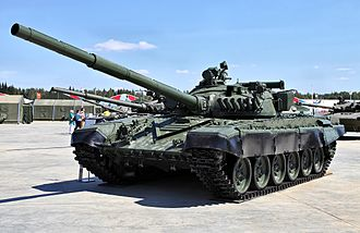 T-72 - The upgraded T-72A which appeared in 1979. This vehicle is the basis for the most numerous export version - the T-72M and T-72M1.