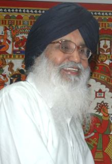 Parkash Singh Badal Indian politician