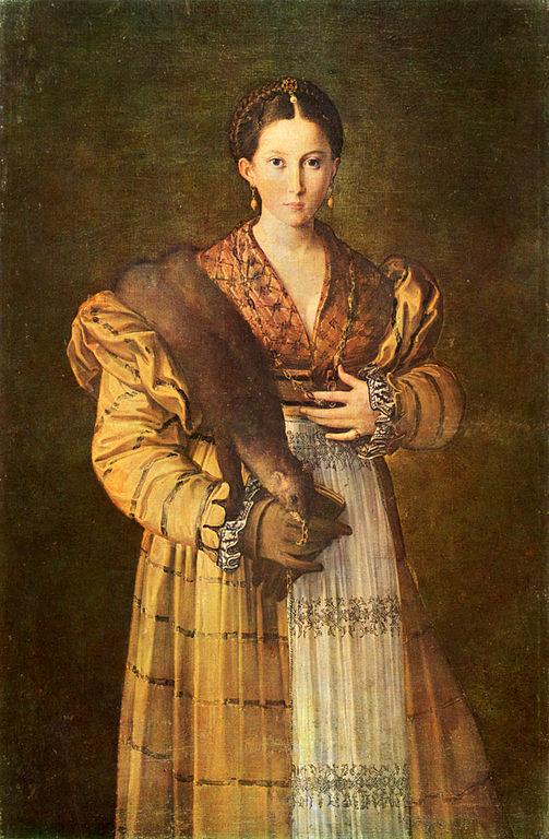 Parmigianino: Athea (1535 körül)