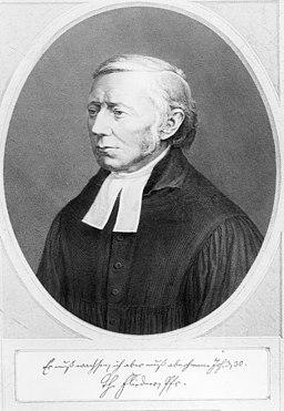 Pastor Theodor Fliedner (1800-1864)